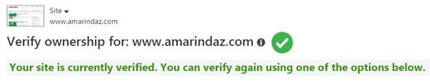 verify ownership webmaster tools