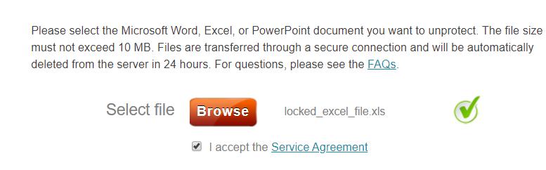 excel password remover online