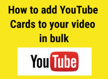 add youtube cards in bulk featured image